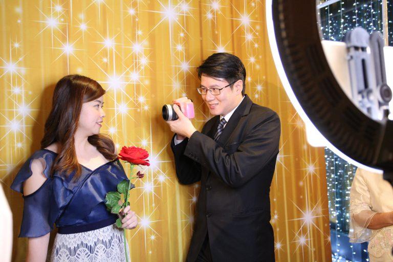การถ่ายภาพด้วย Photo Booth